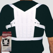 Lightweight Elastic Posture Support Strap