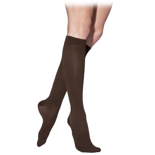 Sigvaris 230 Cotton Series Women's Knee High Compression Socks - 232C CLOSED TOE 20-30 mmHg
