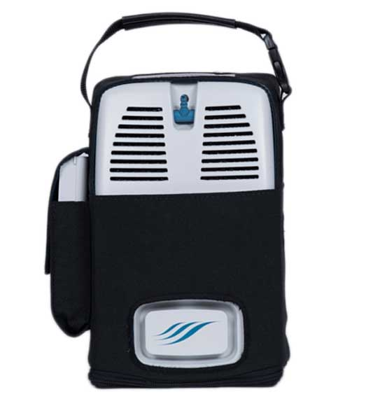 New airsep freestyle 5 portable concentrator: as077-1.