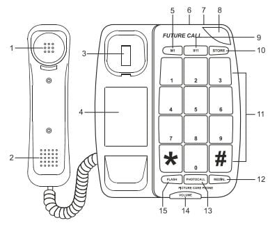 Future Call FCC-1007 Diagram