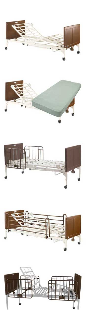 Ships Free Invacare G Series Hospital Bed Invacare G5510 Full Electric Vitality Medical