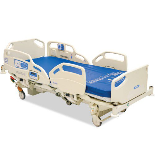 Medical Surgical Bed with Free Built-In Side Rails