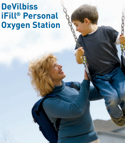 iFill Oxygen Cylinder Refill Station