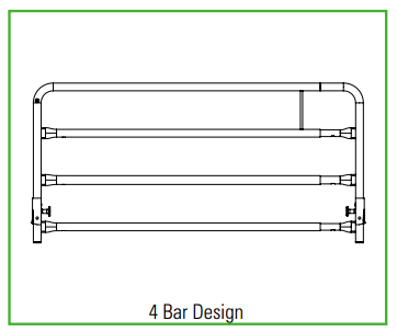 Full-Length Bed Rail Dimensions