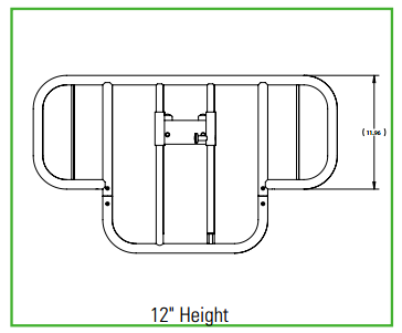 Half Length Bed Rail Dimensions