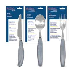 Adaptive Eating Utensils for Elderly - Fork, Spoon, Knife