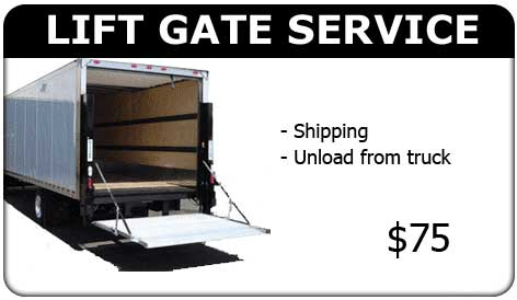 Lift Gate Shipping Service