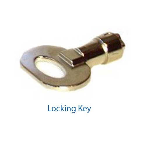 Locking Key for Added Security