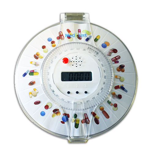 Med-E-Lert Automatic Pill Dispenser Funtions