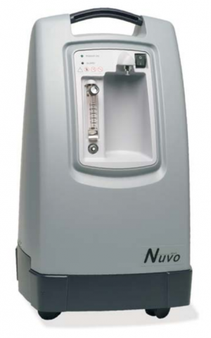 Nuvo 8 Liter Oxygen Concentrator Front View