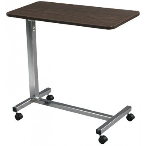 Overbed Table: Color: Silver Vein