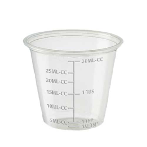 Medicine Cups | Medication Dispensing Souffle Cup | Paper