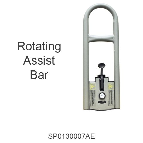 Rotating Assist Bar (for bed model #s PCB301, PCB601)