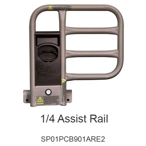 Rotating 1/4 Assist Rail Pair for 902 Beds