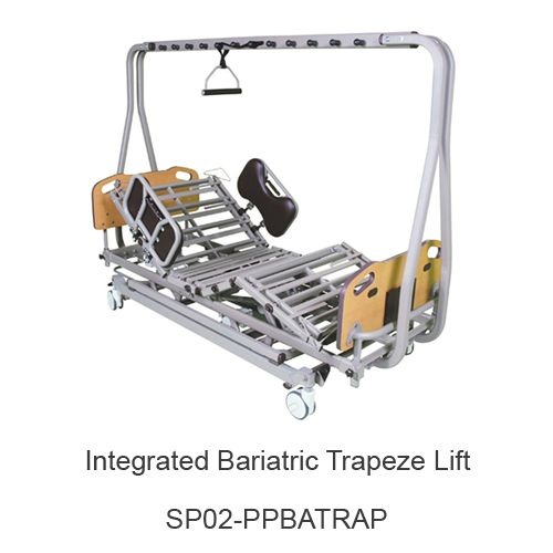 Integrated Bariatric Trapeze (for bed model #s PPB1750, PPB2000)