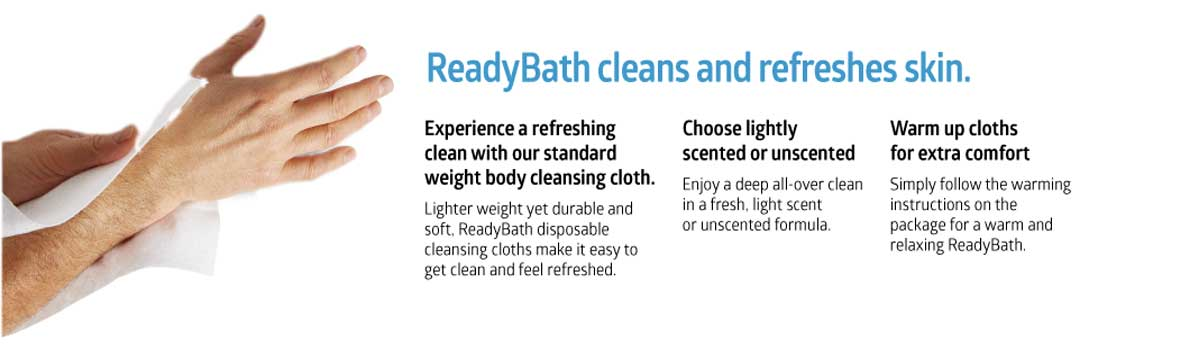 ReadyBath Bathing Cloth