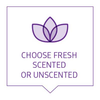 Select Scented or Unscented