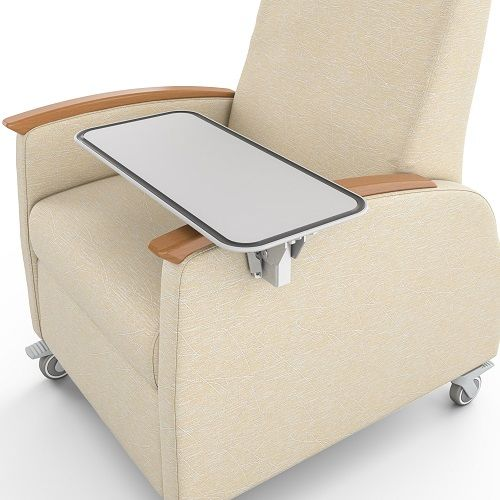Recliner with Tray