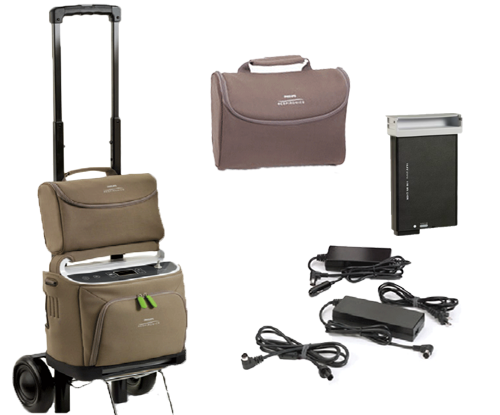 SimplyGo Oxygen Concentrator Components