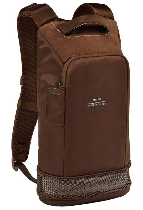 SimplyGo Mini Brown Backpack