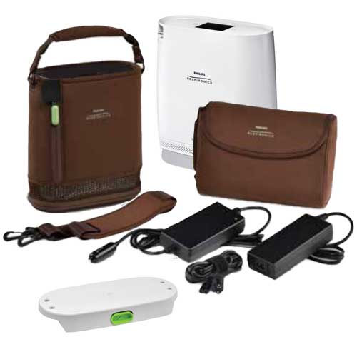 SimplyGo Mini Oxygen Concentrator Components