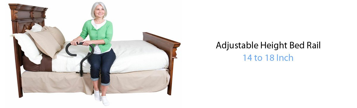 Bed Rail Adjustable Height