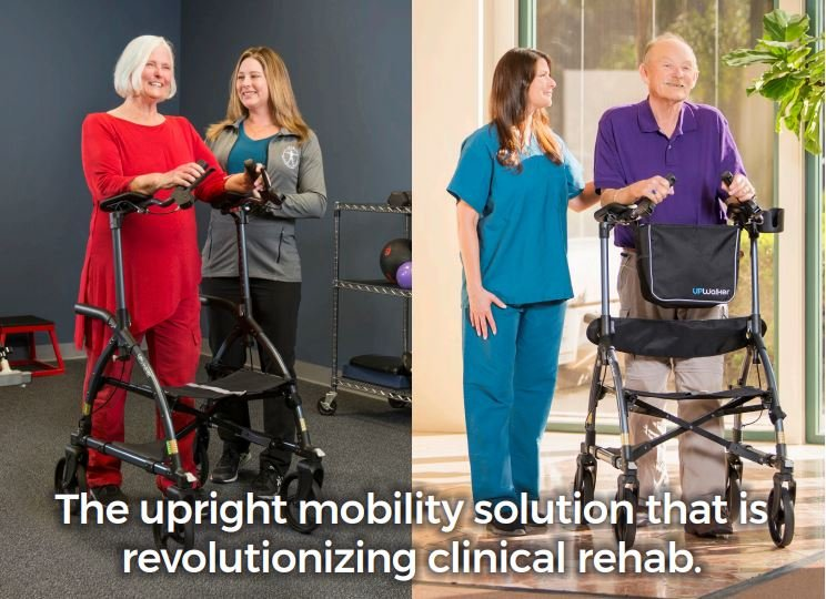 UPWalker is the upright mobility solution that is revolutionizing clinical rehab