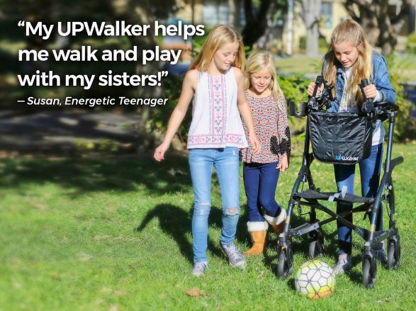 Some patients have said they experienced increased freedom and independence with the UPWalker and UPWalker Lite