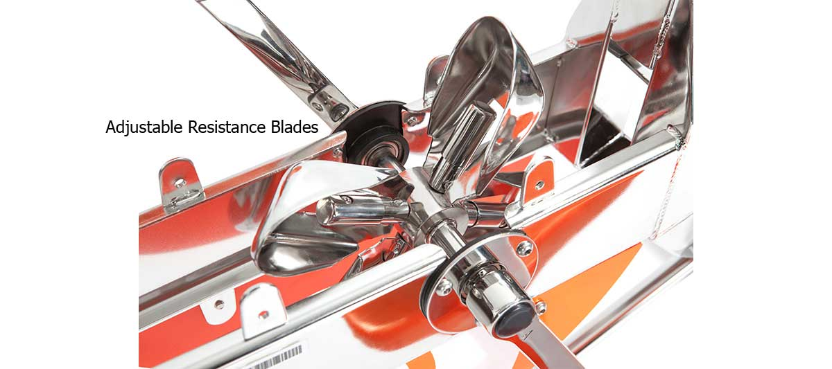 Water Rider 4 Adjustable Resistance Blades