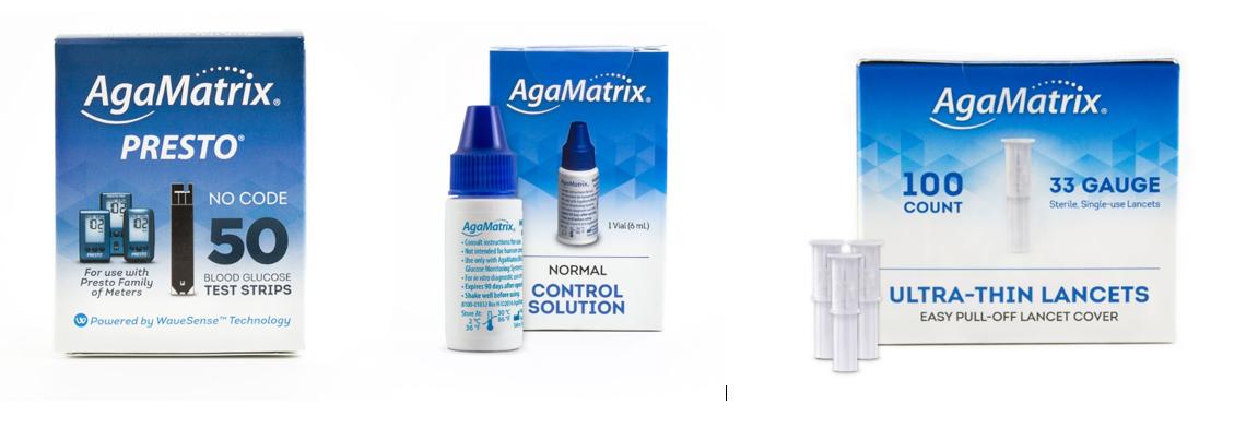 AgaMatrix Consumables