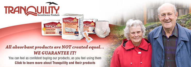 Tranquility products for user confidence