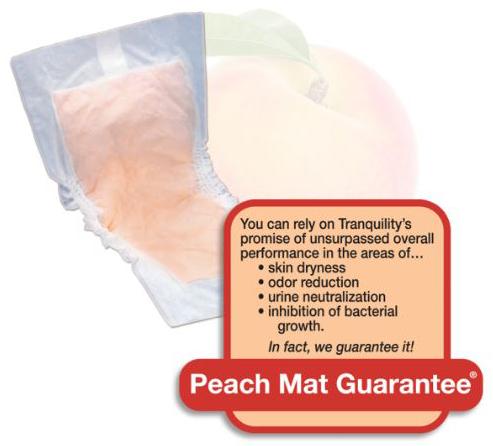Tranquility Peach Mat Guarantee
