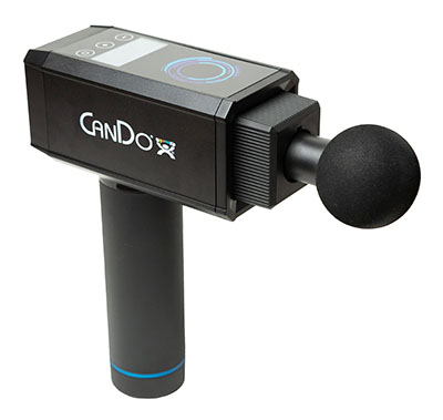 The CanDo Massage Gun for Muscle Tension Release