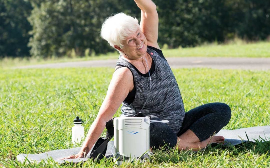 The FreeStyle Comfort Portable Oxygen Concentrator can be used outdoors and on-the-go