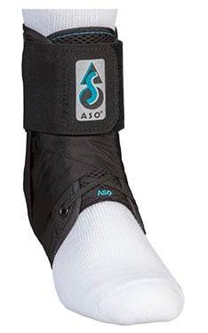 Medspec ASO Black Speed Lacer Ankle Brace