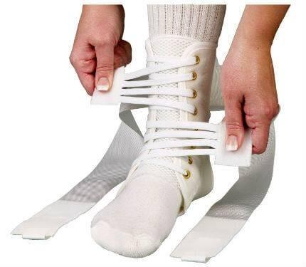 Medspec ASO Speed Lacer Ankle Brace