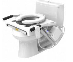 Elevated Toilet Seat Riser