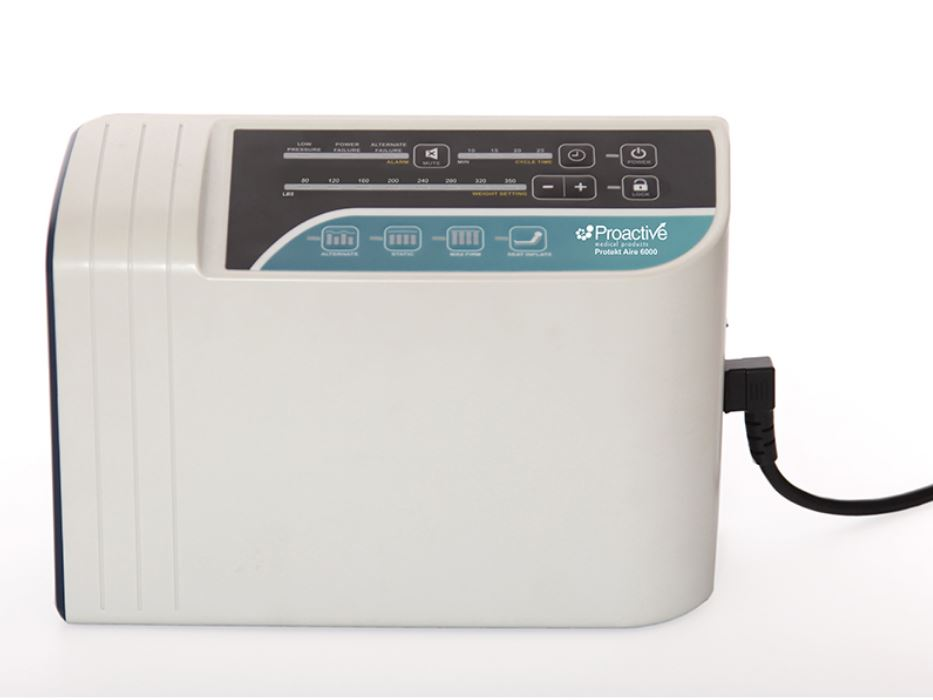 The Protekt Aire 6000 pump allows users to have full control over their comfort and therapy