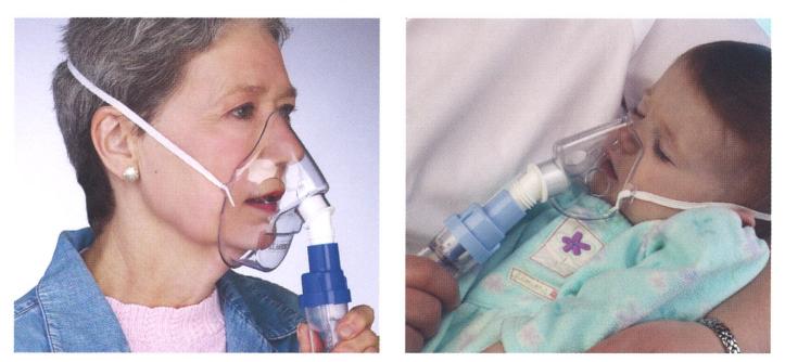 SideStream Nebulizers - Adult and Pediatric Masks