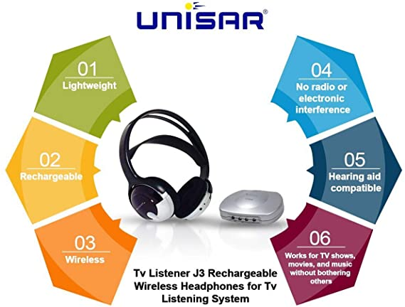 TV Listener J3 (Unisar UNI-TV920) Features and Benefits