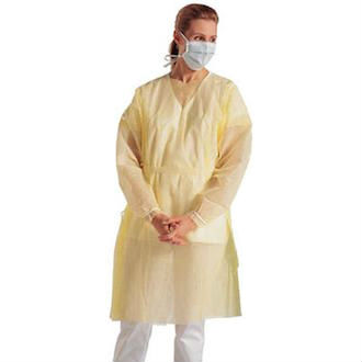 Yellow Isolation Gown