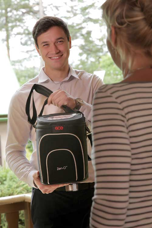 Zeno Lightweight Portable Oxygen Concentrator